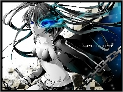 Black Rock Shooter, �a�cuch, Miecz